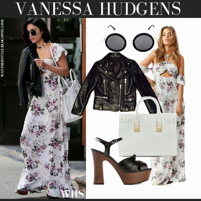 Vanessa hudgens grey maxi dress