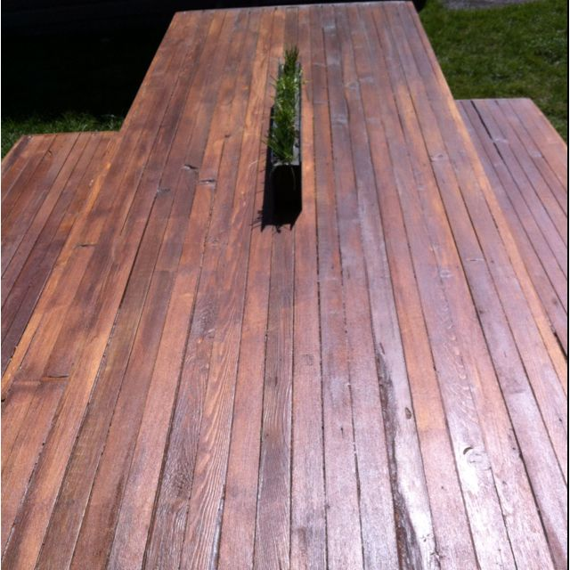 DIY 2x2 wooden table top view! | Things Mike needs to make