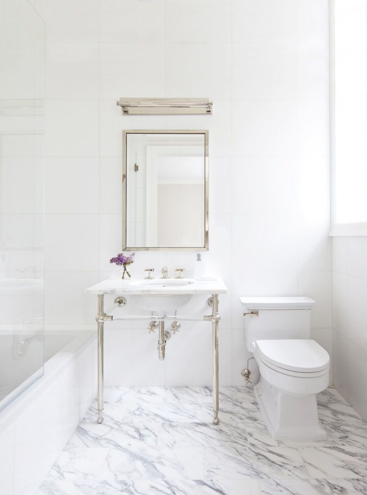 The Best Paint Color Combinations Perfect White Marble Bathrooms - Best paint color for marble bathroom