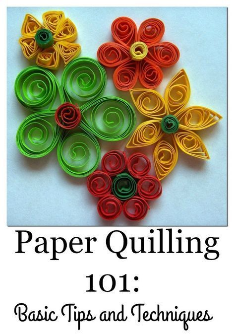 Basic Paper Quilling Techniques | Filigrana, Arte de papel y ...