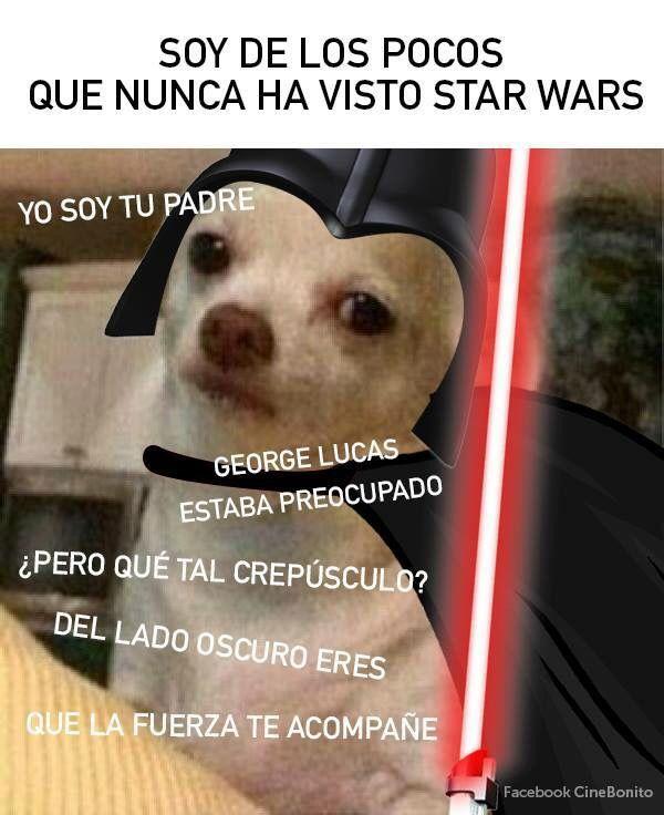 Para Los Que Son El 1 Que No Han Visto Starwars Memes Perrito Mejores Memes Memes Star Wars