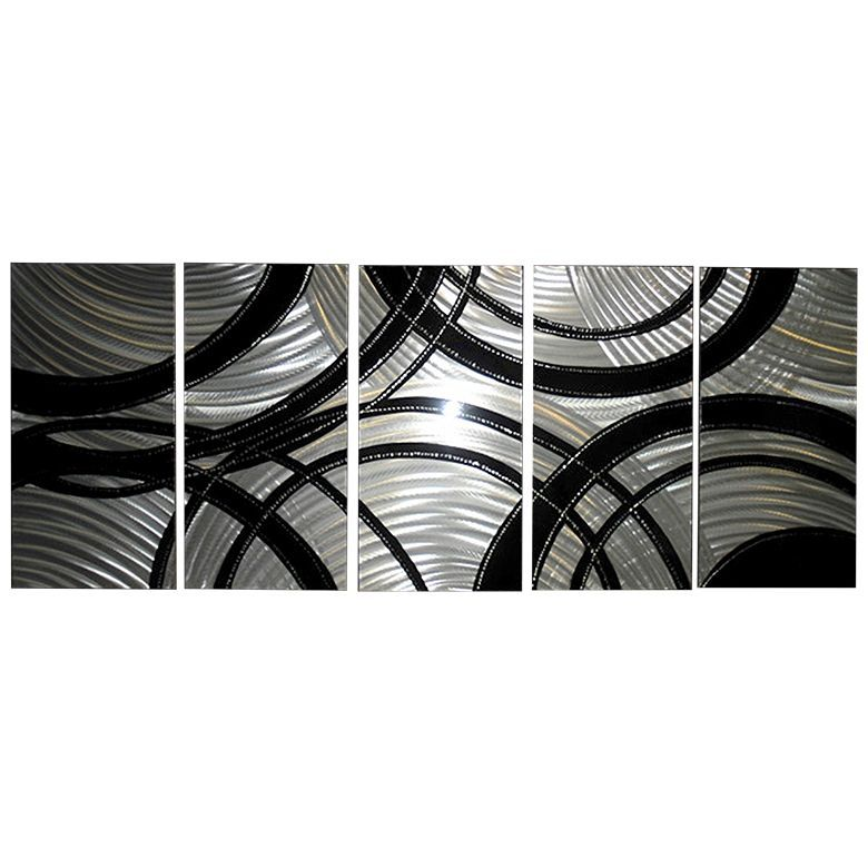u0027Silver Gearsu0027 Brushed Aluminum Wall Decoration   Abstract Metal Wall Art  sc 1 st  Pinterest & Silver Gearsu0027 Brushed Aluminum Wall Decoration   Abstract Metal Wall ...
