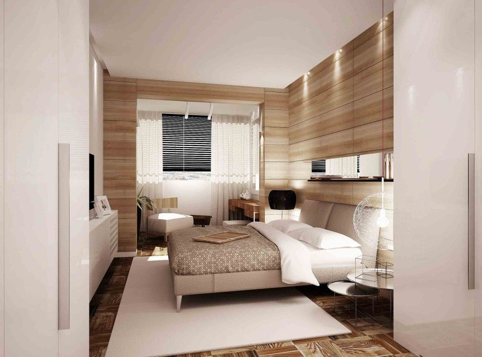 Lovely Bedroom:Contemporary Wood Paneled Bedroom Design Ideas With Modern Bed Sets  With White Cushions Also Gallery