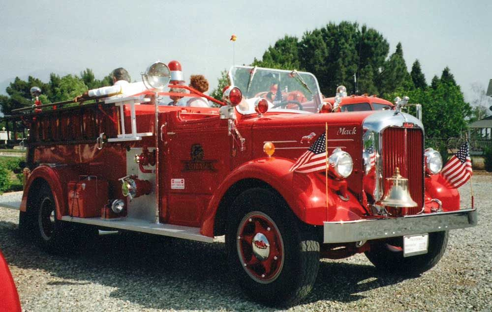 1953 Custom Mack Fire Truck Joe S Motorpool Amp Vehicle
