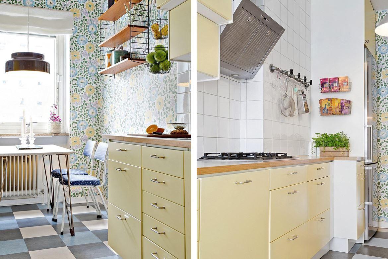 ennui - how to måla rutigt golv | Hem | Pinterest | Kök, Inredning ...