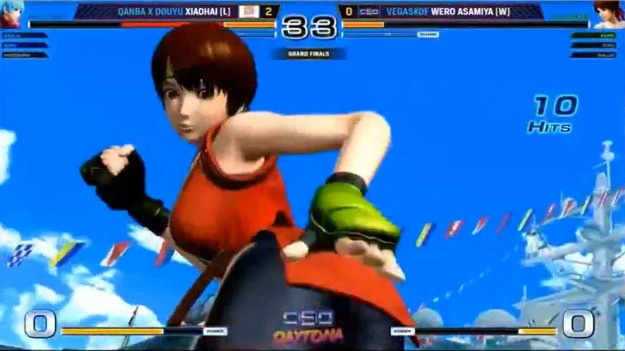 The King Of Fighters Xiv Xiao Hai 小孩 Vs Wero Asamiya 30 1