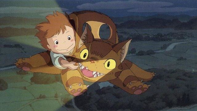 Ghibli Blog Studio Ghibli Animation And The Movies Ghibli Museum Short Films Mei And The Kittenbus 2003 トトロ ジブリ スタジオジブリ