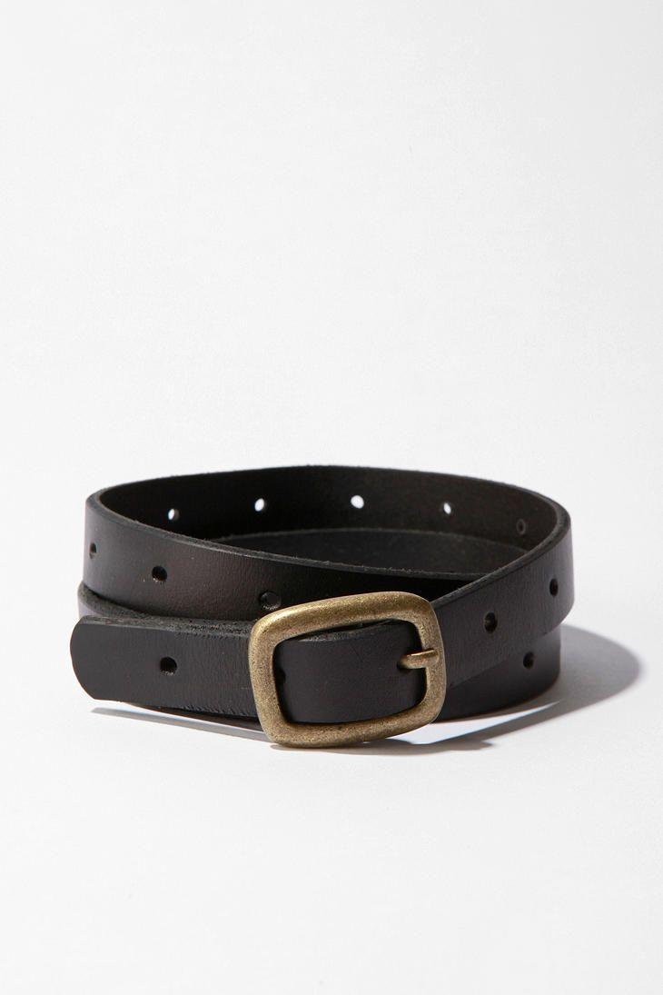 BDG Skinny Leather Belt  #UrbanOutfitters