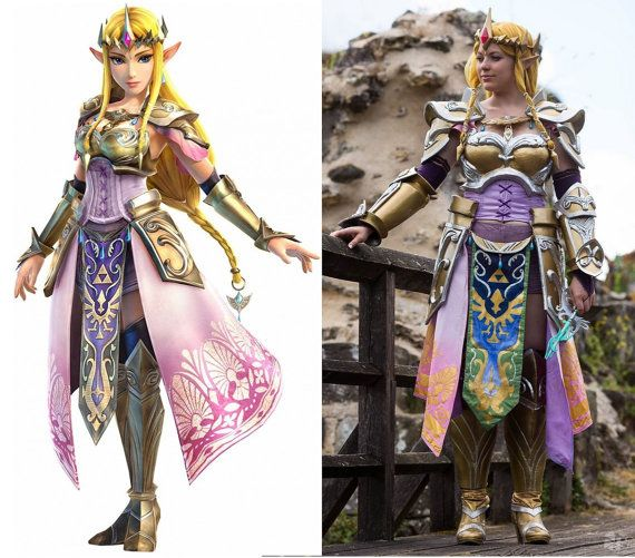 Zelda Hyrule Warriors Full Costume Warrior Costume Hyrule