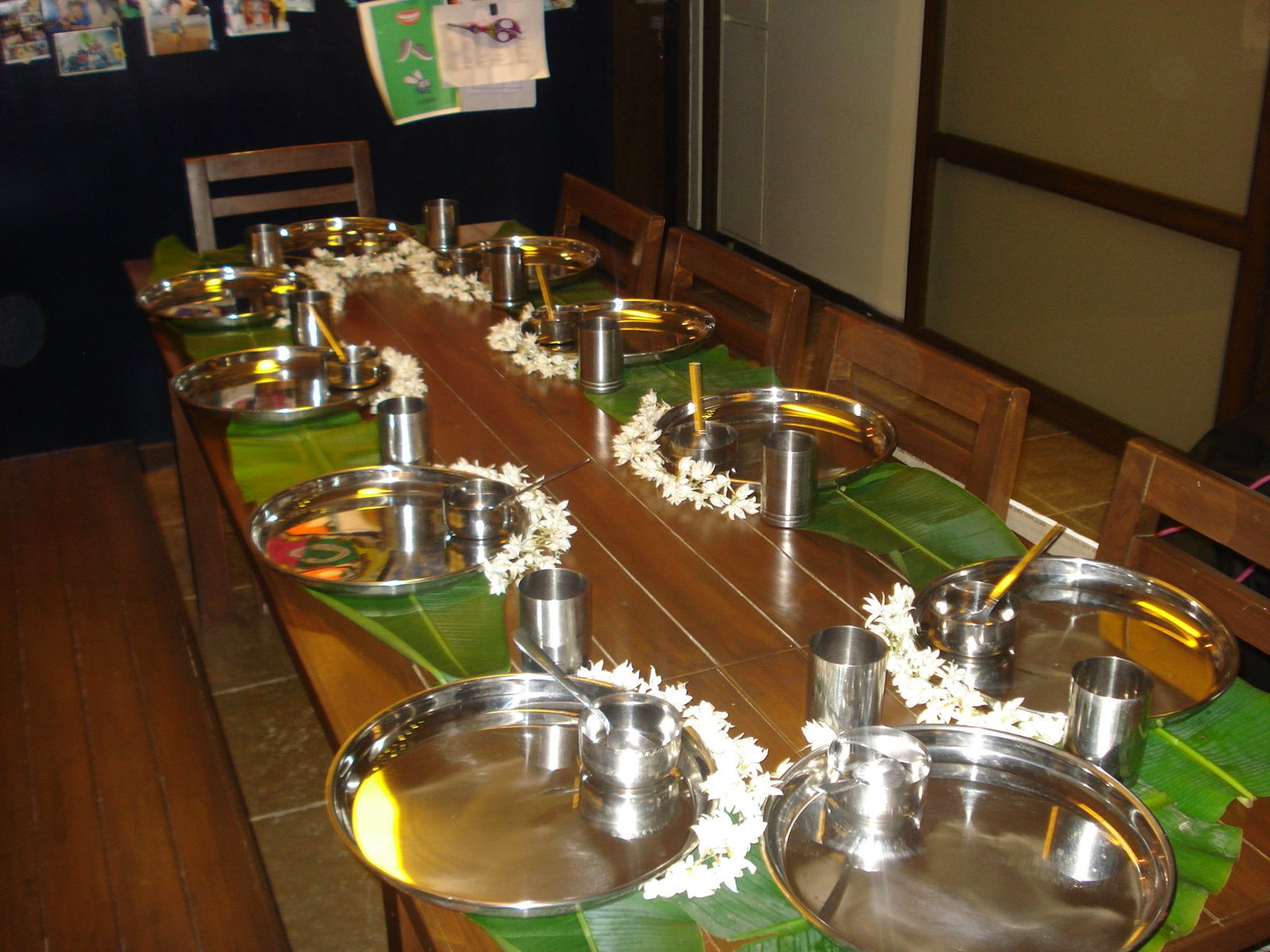 How To Prepare Dining Table Awesome Isn T It South Indian
