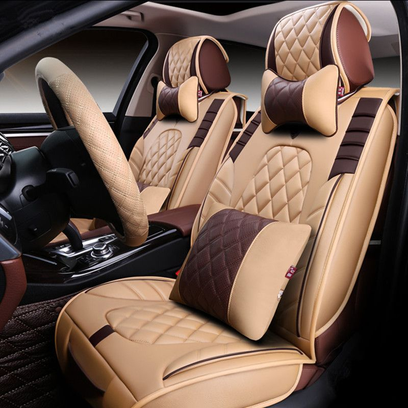 Styling Car Seat Cover For Land Rover Discovery Freelander 2 Sport Range EvoqueHigh Fiber LeatherCar Covers