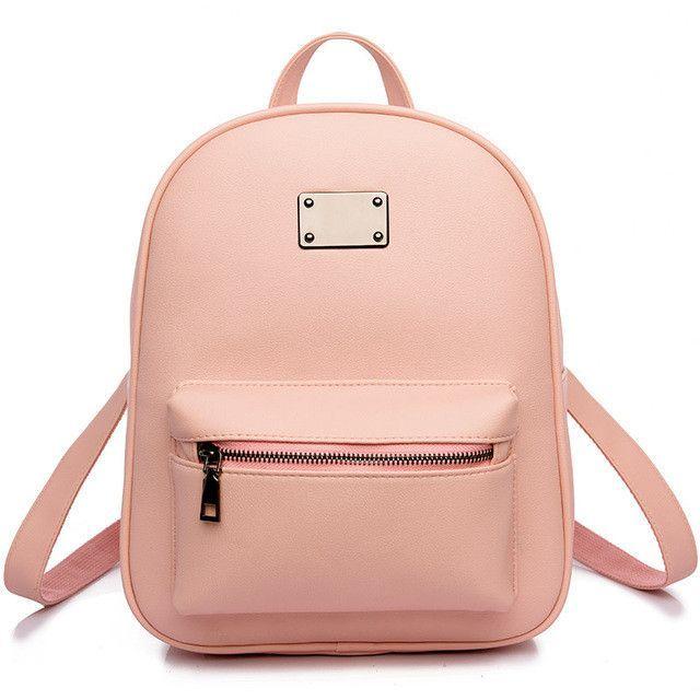 25824377c6 Toposhine Fashion Women Backpack For Girls 2016 Backpacks Black Backpacks  Female Fashion Girls Bags Ladies Black Backpack 1538