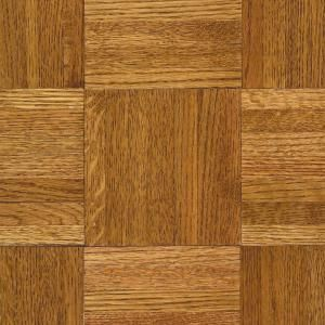 Bruce Butterscotch 5 16 In Thick X 12 In Wide X 12 In Length Hardwood Parquet Flooring 25 Sq Ft Case 112140 The Home Depot Flooring Parquet Hardwood Hardwood