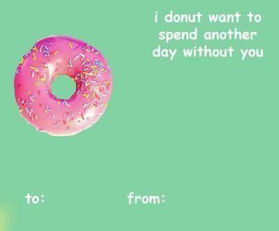 Donut Luv U Bad Valentines Cards Valentines Memes Meme Valentines Cards