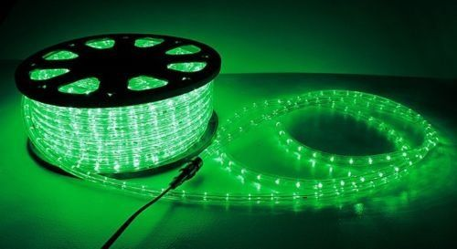 New 150 ft 2 wire led rope light home outdoor christmas lighting new 150 ft 2 wire led rope light home outdoor christmas lighting green aloadofball Choice Image