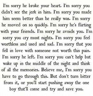 sad break quotes that make you cry sample letter smart letters ...