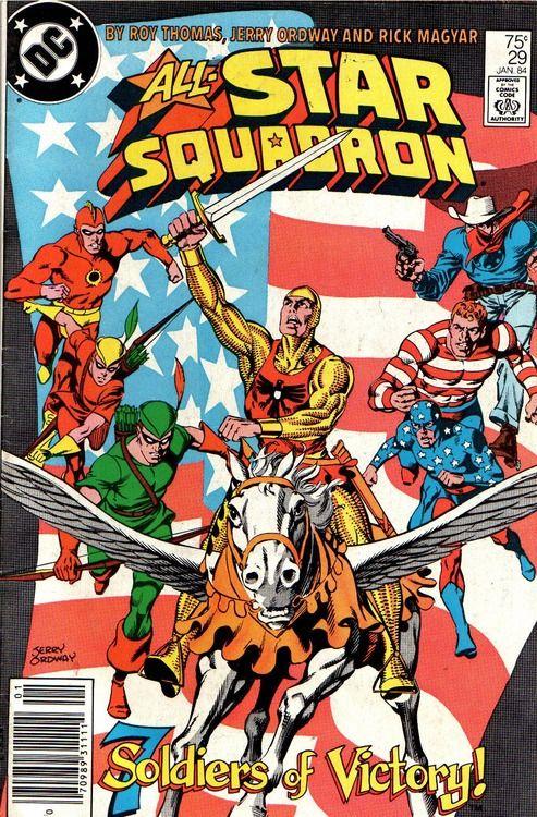 All Star Squadron Star comics, Old comics, Classic comics