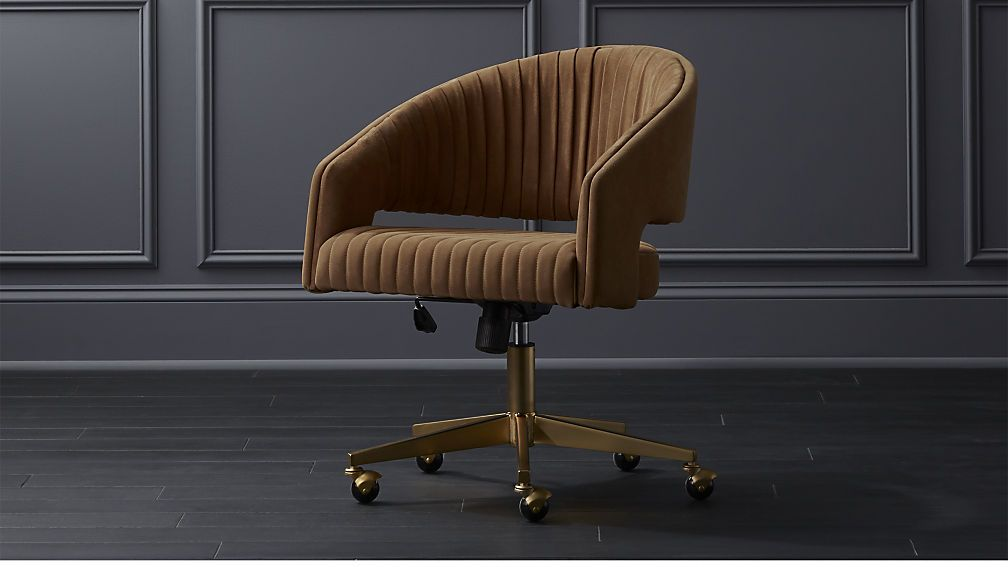 Channel suede office chair reviews cb2 home office