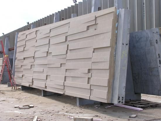 When We Are Talking About Modern Architecture Decorative Concrete Form Liners Are The First Thing Tha Precast Concrete Panels Precast Concrete Concrete Design