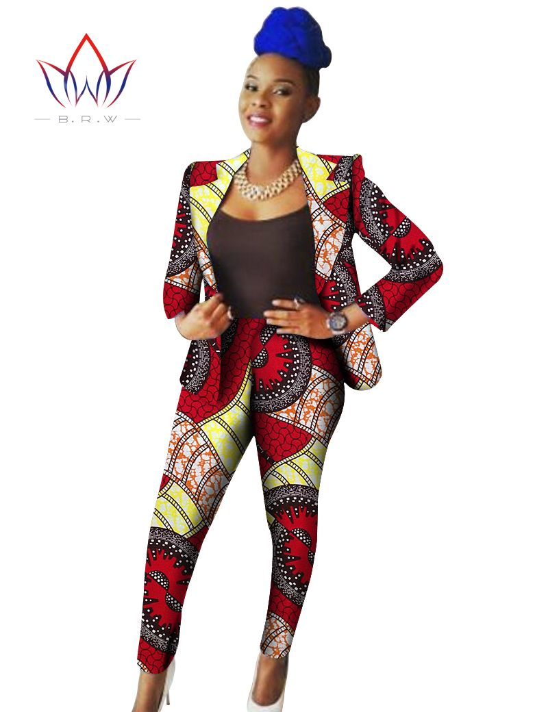 New Arrival Custome African Clothing Print Wax Full Sleeve Women Blazer U0026u2026 | Formal | Pinterest ...