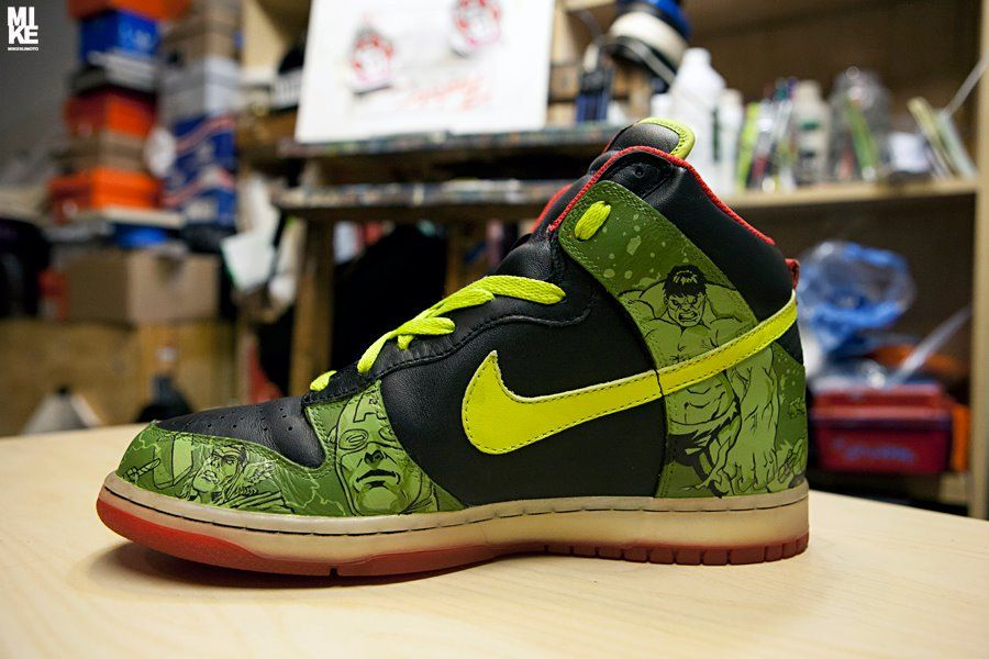 more photos 752ec a06dd nike avengers dunks   Posted by bluepants on February 6, 2012 · Leave a  Comment