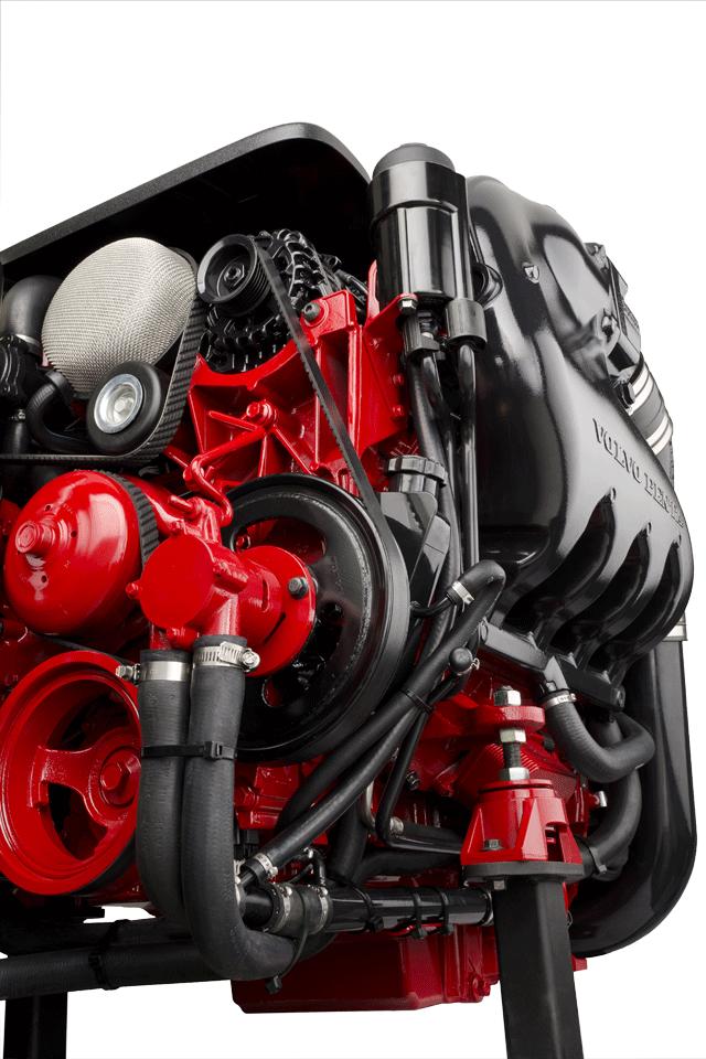 Motore Volvo Penta 380 V8 Marine Diesel Engine Volvo Diesel Engine
