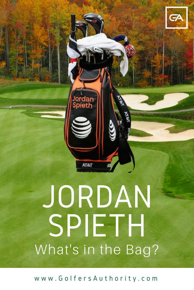 Jordan Spieth WITB? (What's in the Bag) Updated for 2020
