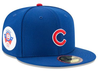 Chicago Cubs New Era MLB Ultimate Patch Collection Game 59FIFTY Cap ... 911c5aa614ea