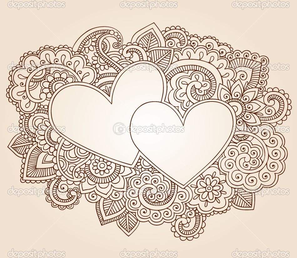 valentine's day paisley heart gift box