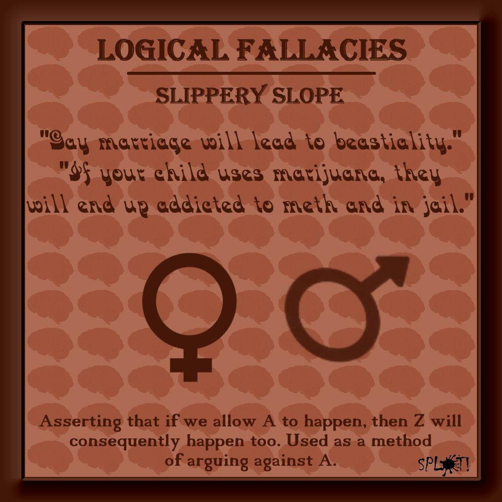 impact logical fallacies critical thinking