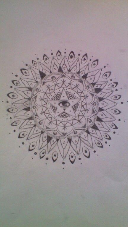 Mandala Tattoo #MadeByMe