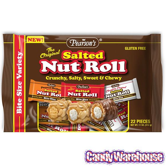 Just found Pearson's Bite Size Salted Nut Rolls Variety: 22-Piece Bag @CandyWarehouse, Thanks for the #CandyAssist!