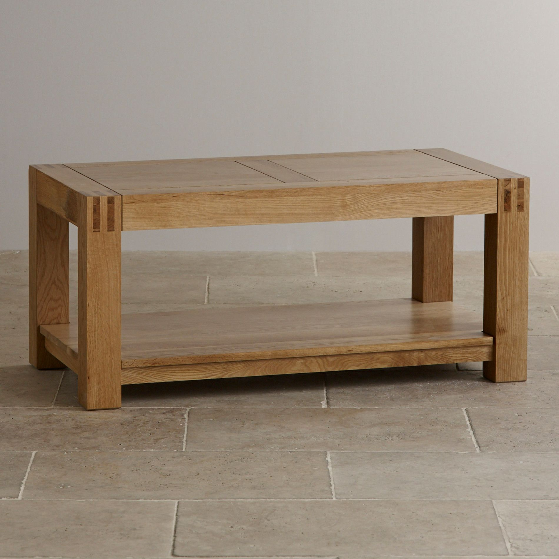 Box Joint Coffee Table
