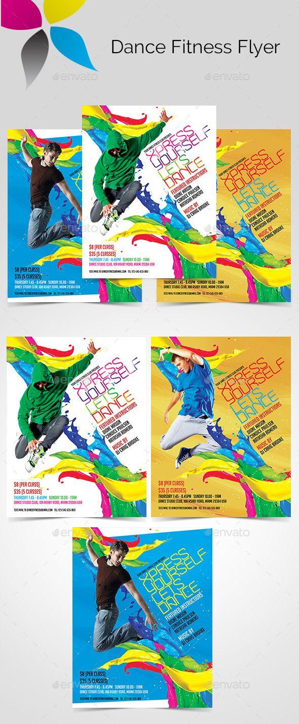 Zumba flyer design zumba flyers - Dance Fitness Flyer Photoshop Psd Zumba Gymnasium Available Here Https