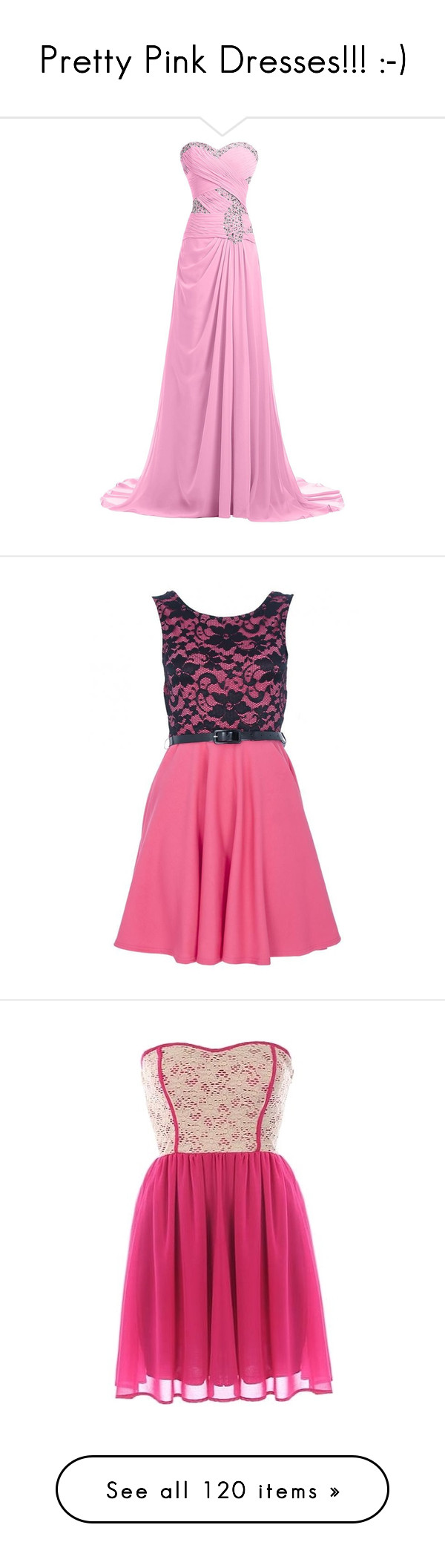Pretty Pink Dresses!!! :-)\