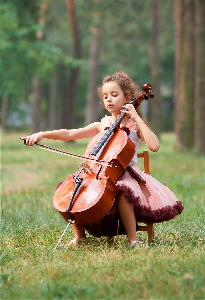 I hope Sam has an interest in playing the cello. I have ...