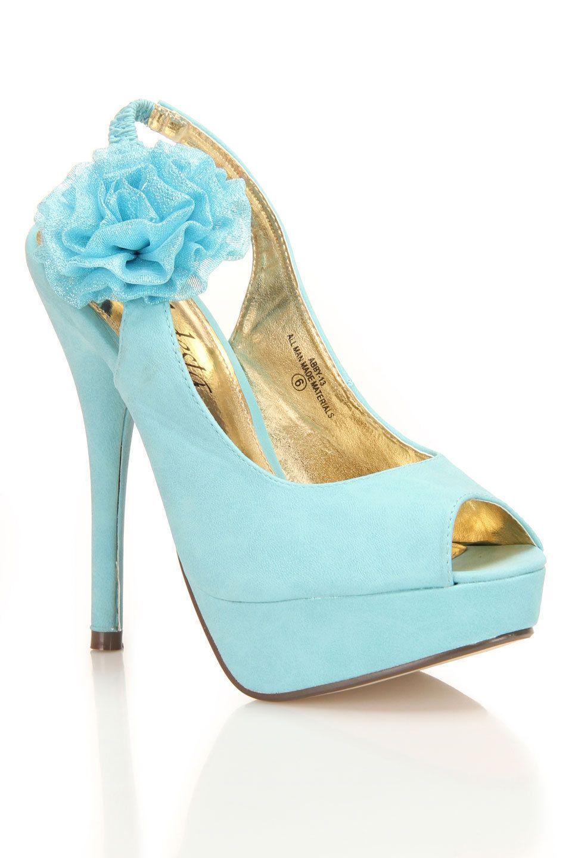 cute blue shoes for wedding dress | My Style | Pinterest | Wedding ...