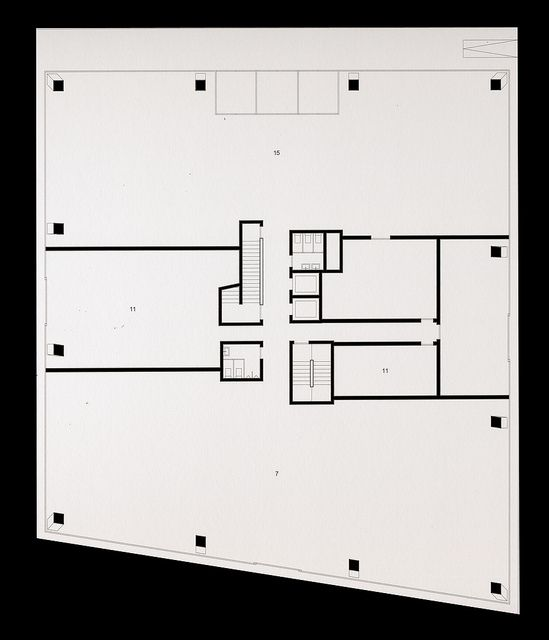 Complesso di uffici binz zurigo 2001 zurigo for Casa moderna zurigo