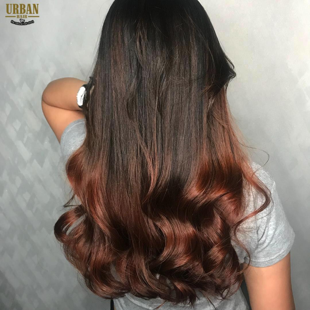 Korean Wave Perm Bambi Brown Color Digital Perm Best Hair Salon Cool Hairstyles