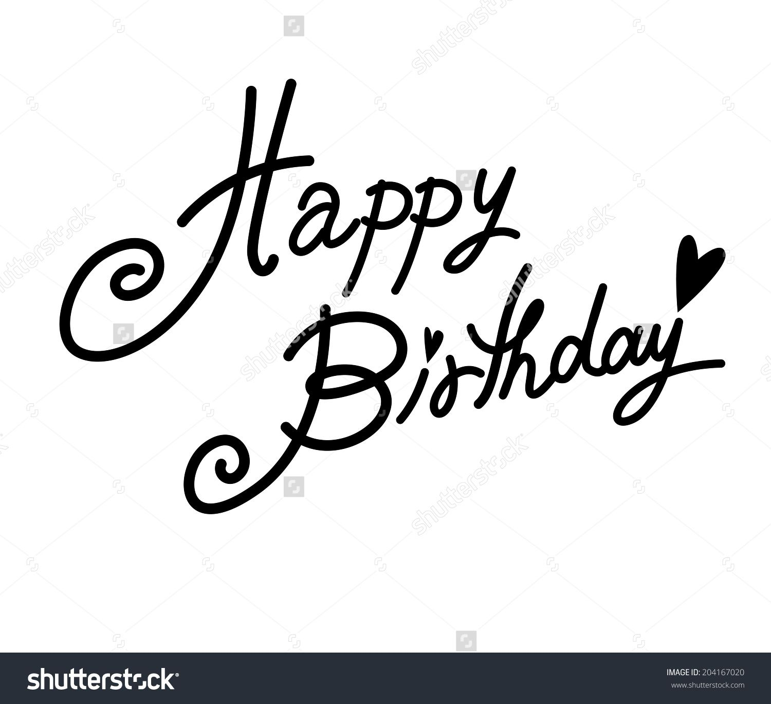 Happy birthday writing fonts imgkid the image