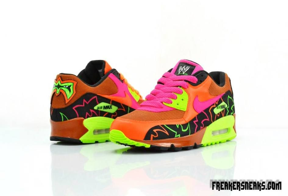 nike air max id 95 - ultimate-warrior-custom-nike-air-max-shoes-freakersneaks-2 | WWE ...