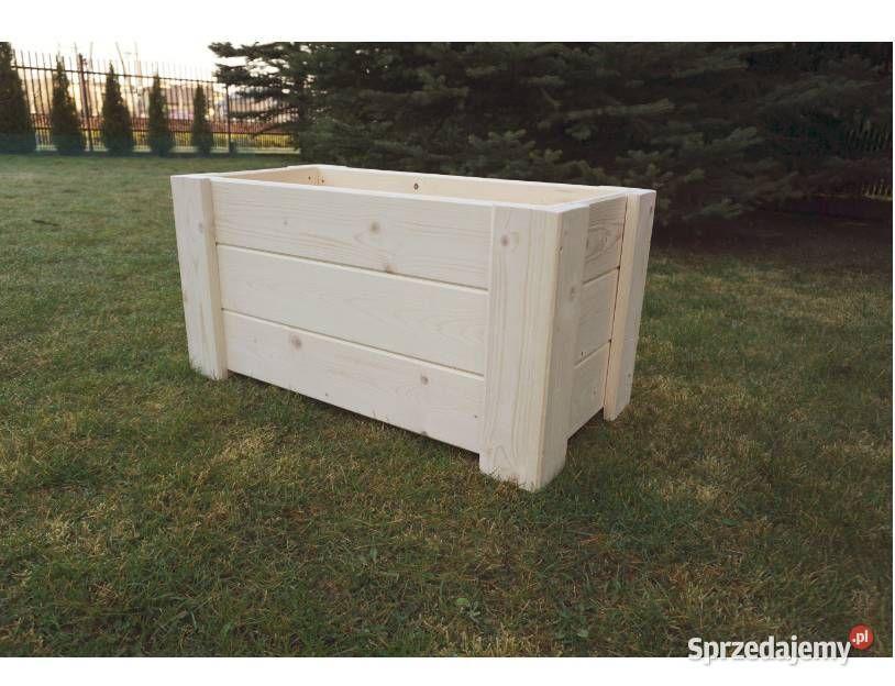 Donica Skrzynia Drewniana Kwietnik Dowolny Wymiary Blonie Sprzedajemy Pl Outdoor Storage Box Outdoor Furniture Outdoor Decor