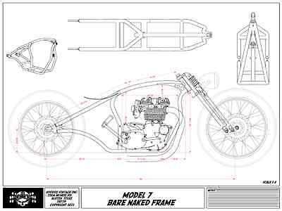 Voodoo Vintage MK7-BNF Universal Chopper / Bobber