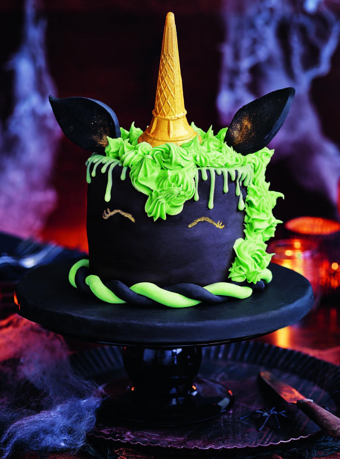 Tesco Magazine October 2017 Happy Halloween Pinterest Cake