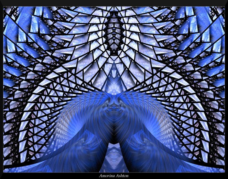 Pin By Carolyn Pranke On Fractals And Other Forms Of: Feeling So Blue By AmorinaAshton.deviantart.com On