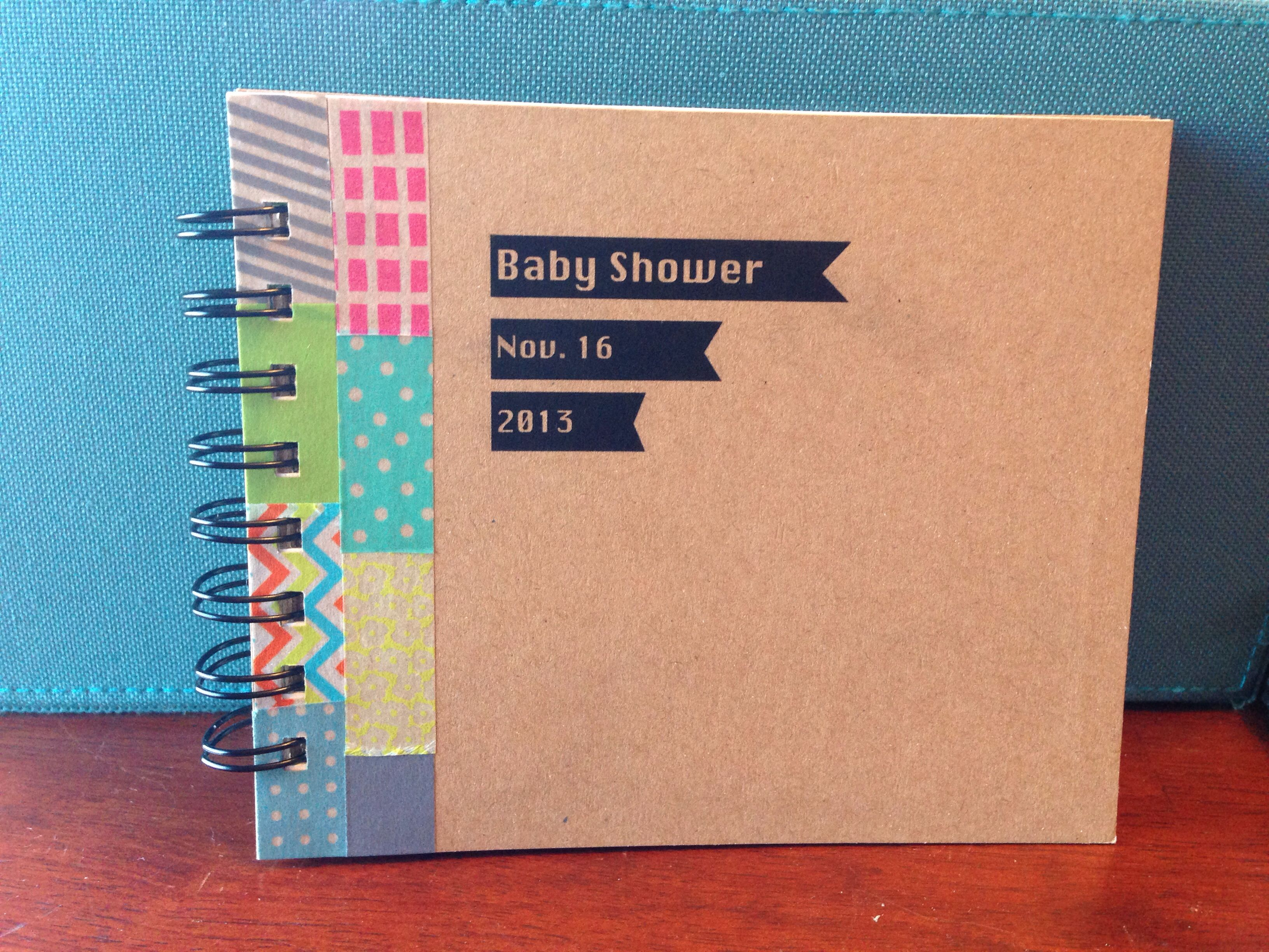 Baby Shower Guest Book Diy ~ Diy baby shower guest book i am thinking of borrowing a