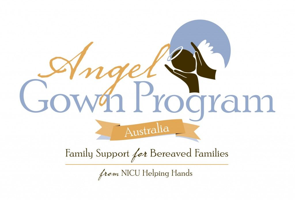 Angel Gown Program Australia Logo from NICU Helping Hands | NICU ...
