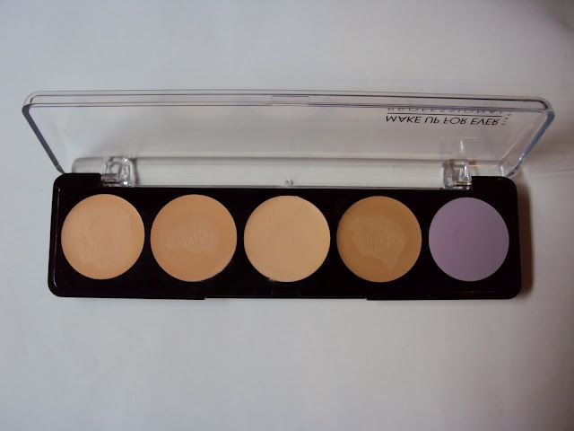 5 Camouflage Cream Palette - No. 2-$36      On the Makeup Forever website, there are actually 5 different 5 Camouflage Cream Palettes:    - Palette #1 for European skin.  - Palette #2 for Asian skin.  - Palette #3 for mixed skin.  - Palette #4 for black skin.  - Palette #5 for professional make-up artists (contains MAKE UP FOR EVER's 5 main corrective shades).