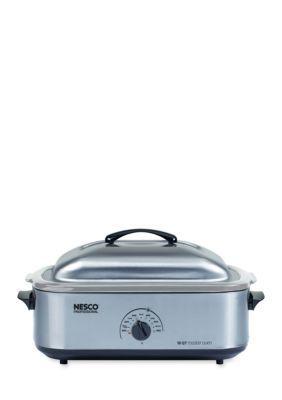 Nesco  Nesco 4818-25-20 18 Qt. Stainless Steel Base Cover  Cookwell