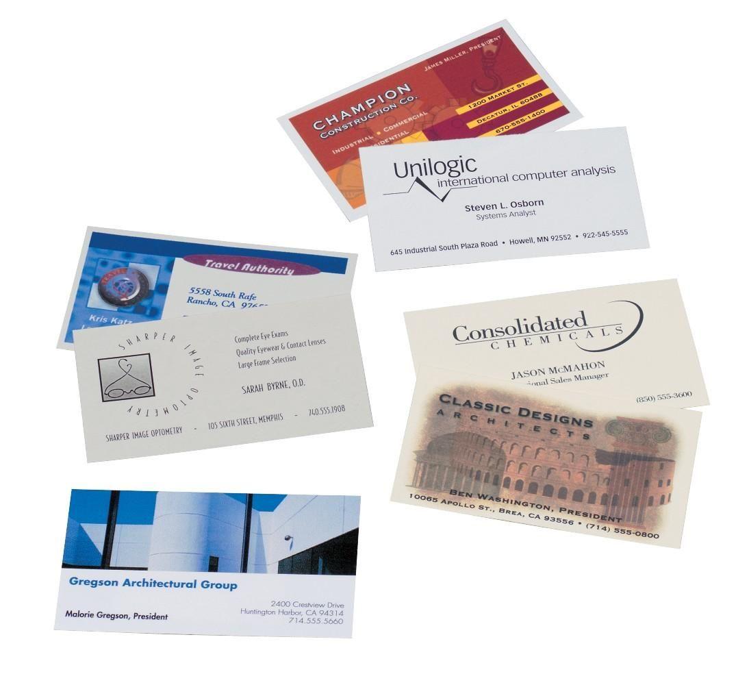 Avery Visitenkarten Papier Von Amazon Als Auch Von Avery